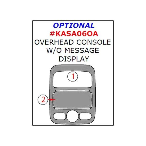 Remin Dash Kit Full Kit 17468780 on White 2006 Kia Sedona