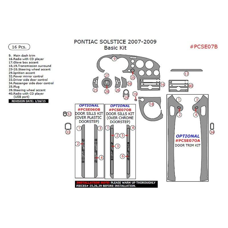 pontiac performance parts catalog