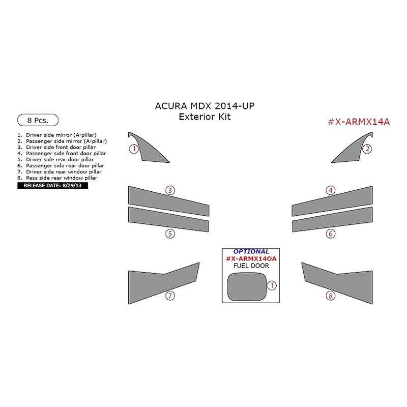 Acura MDX 2014 Exterior Kit