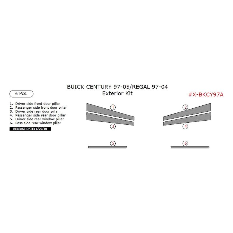 Buick Century 2001 Exterior Kit