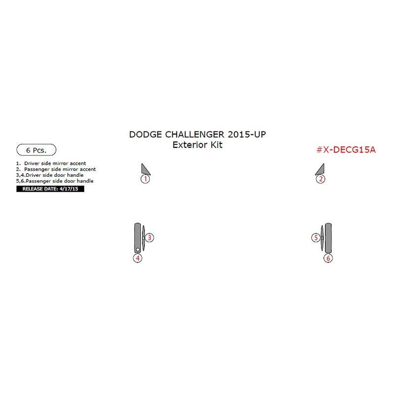 remin dodge challenger 2015 2016 exterior kit. Black Bedroom Furniture Sets. Home Design Ideas