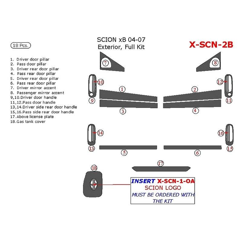 2011 Scion Xb Aftermarket Parts: Search Results Scion Xb Wood Grain Dash Kits Caridcom Car
