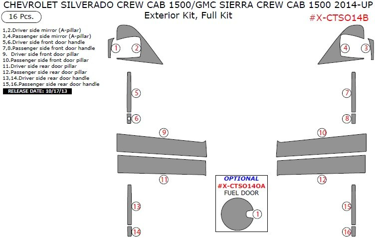 chevy tahoe accessories parts carid