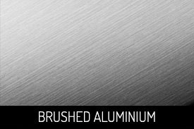 Brushed Aluminium