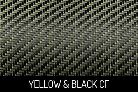 Yellow and Black Carbon Fiber