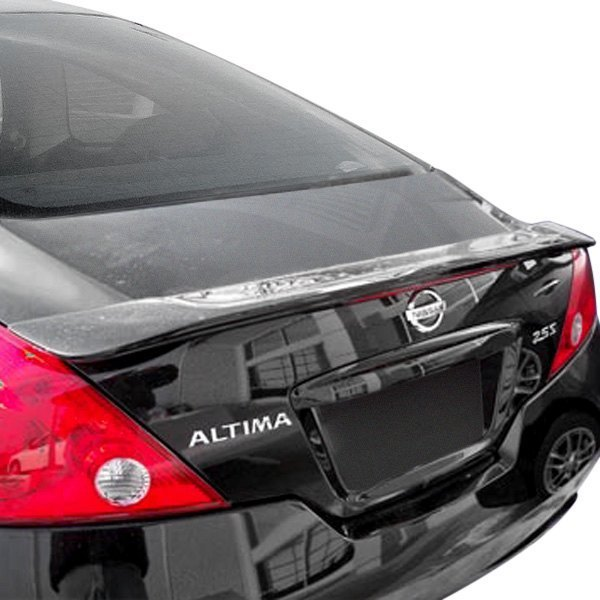 Remin nissan altima coupe 2010 factory style rear lip spoiler with light for 2010 nissan altima interior accessories