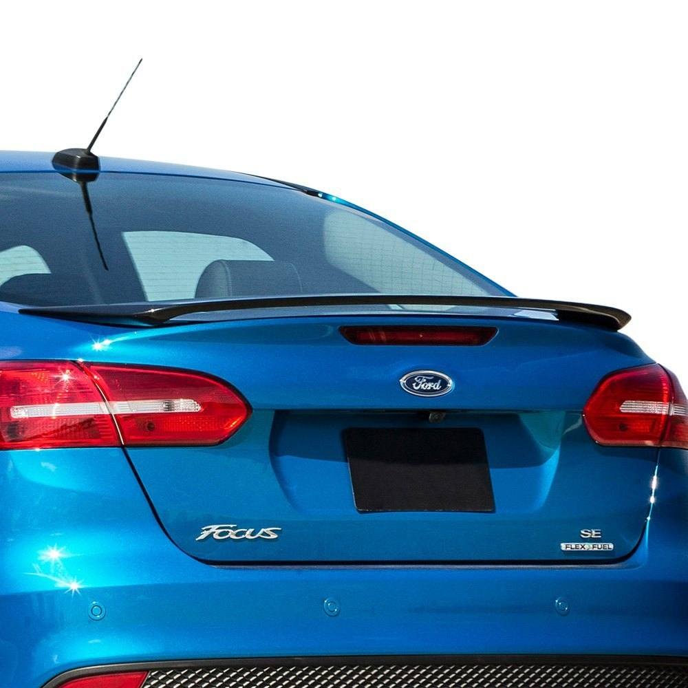 Remin ford focus 2012 factory style rear spoiler for 2012 ford focus exterior accessories