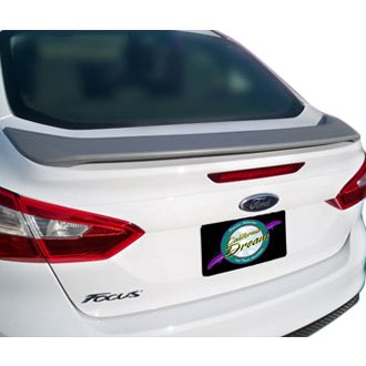 Remin ford focus 2012 2013 factory style rear spoiler for 2012 ford focus exterior accessories