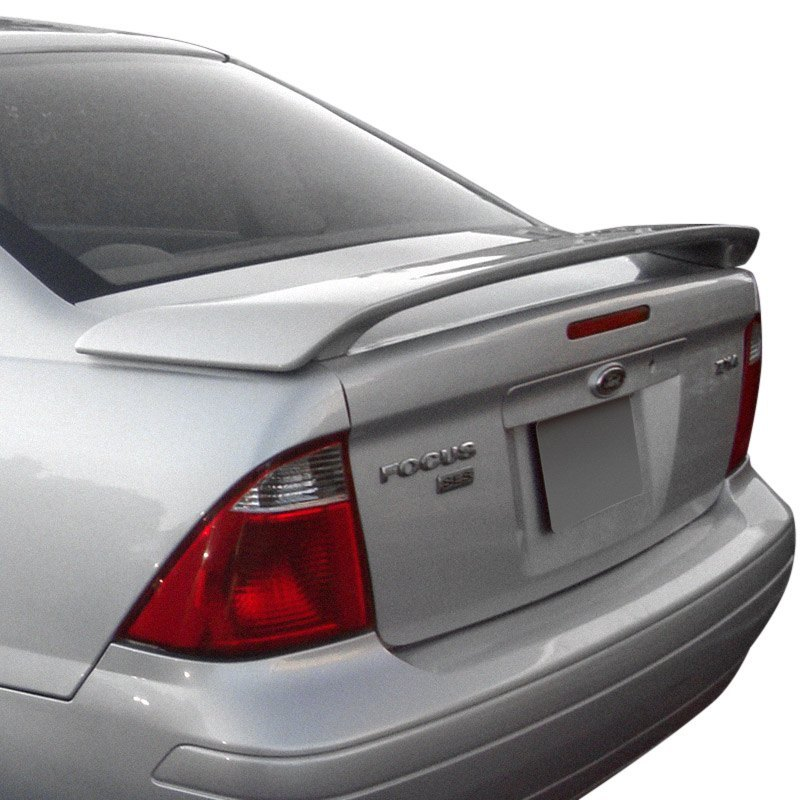 remin ford focus 4 doors 2002 factory style rear spoiler. Black Bedroom Furniture Sets. Home Design Ideas