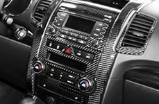 Remin® - Carbon Fiber Dash Kit on KIA
