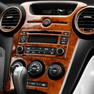 Remin® - Wood Grain Dash Kit on Ford F-150