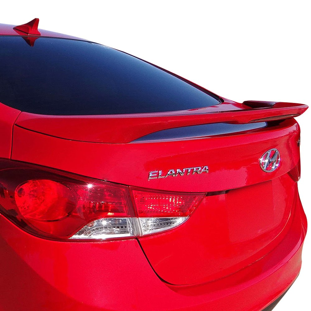 Remin 174 Hyundai Elantra 2011 Factory Style Rear Spoiler With Light