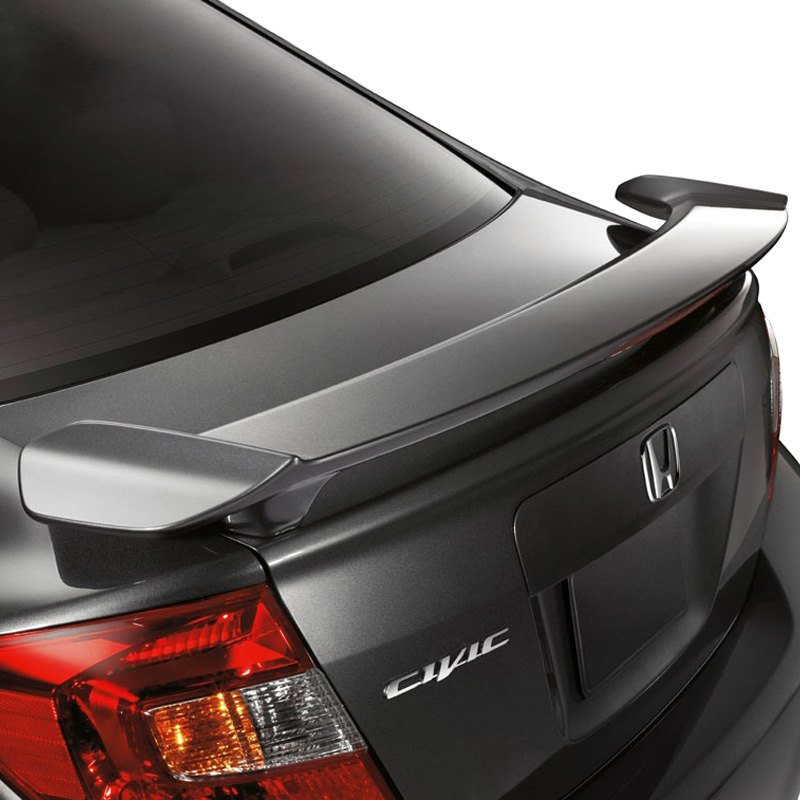 Remix Custom Roof Spoiler for 2012-2015 Honda Civic 4DR Sedan Rear Roof Window Visor Spoiler Wing 13 14