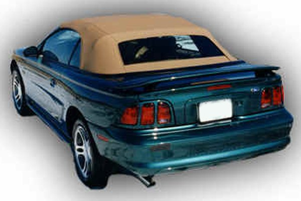 remin ford mustang 1994 1998 factory style rear spoiler. Black Bedroom Furniture Sets. Home Design Ideas
