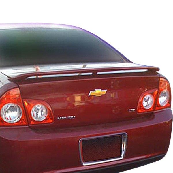 Chevy Malibu 2011 Custom Style Rear Spoiler With