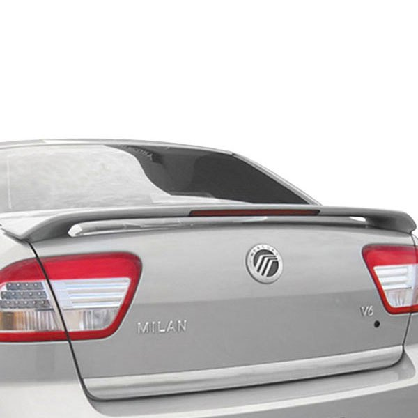 remin lincoln mkz 2008 custom style rear spoiler with light. Black Bedroom Furniture Sets. Home Design Ideas
