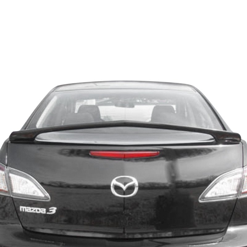 Mazda Mazda 3: Mazda 3 2010 Custom Style Rear Spoiler