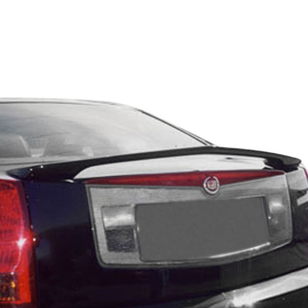 remin cadillac cts cts v 2007 factory style rear spoiler. Black Bedroom Furniture Sets. Home Design Ideas
