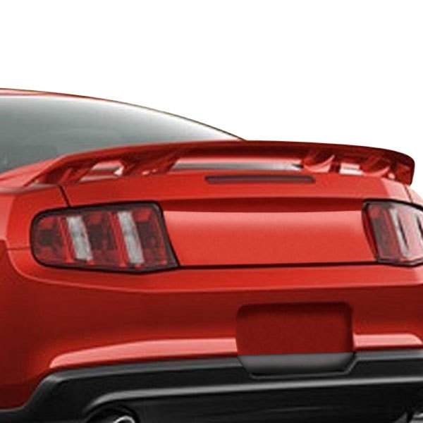 remin ford mustang gt 2010 2014 factory style rear spoiler. Black Bedroom Furniture Sets. Home Design Ideas