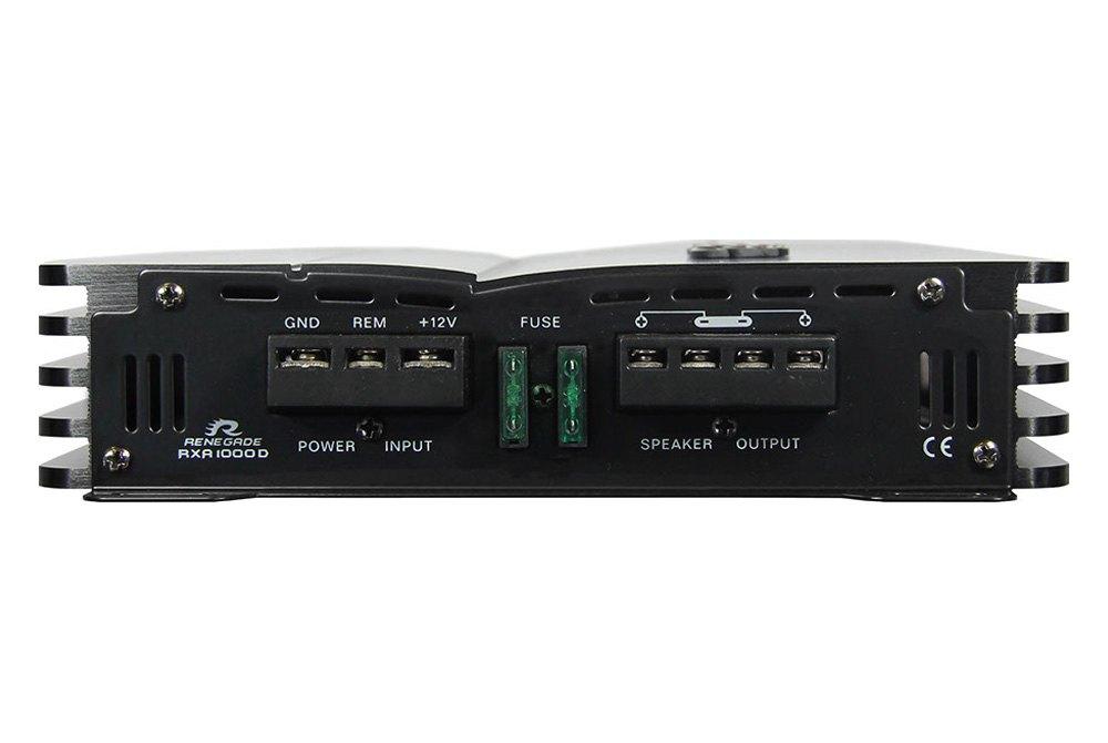 Renegade® RXA1000D - Class D Mono 1000W Amplifier