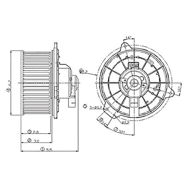 Replace Dodge Ram 1999 Hvac Blower Motor