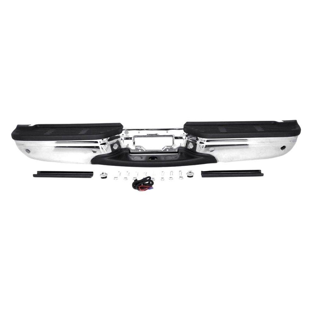 Rear Bumper Assy : Replace ford f super duty rear step bumper