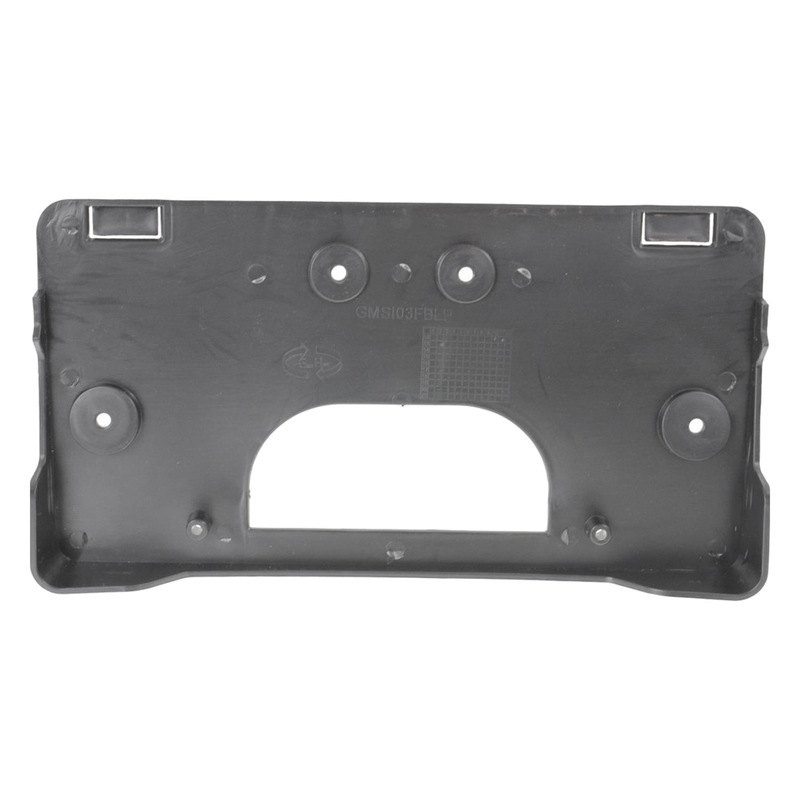 Replacement Front Bumper License Plate