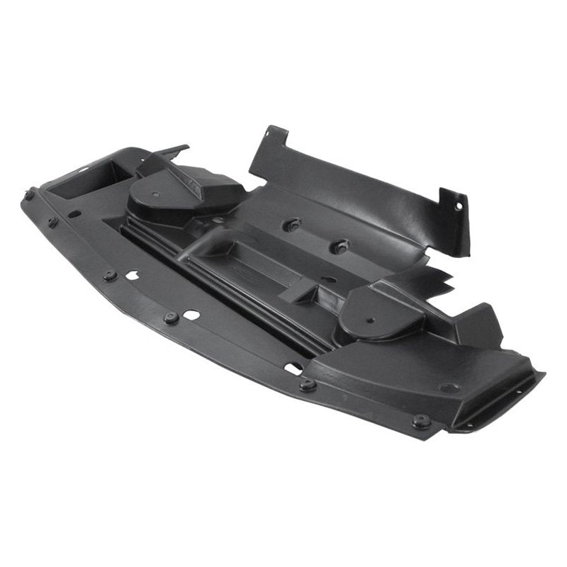 Replace 174 Gm1092231 Front Lower Bumper Deflector
