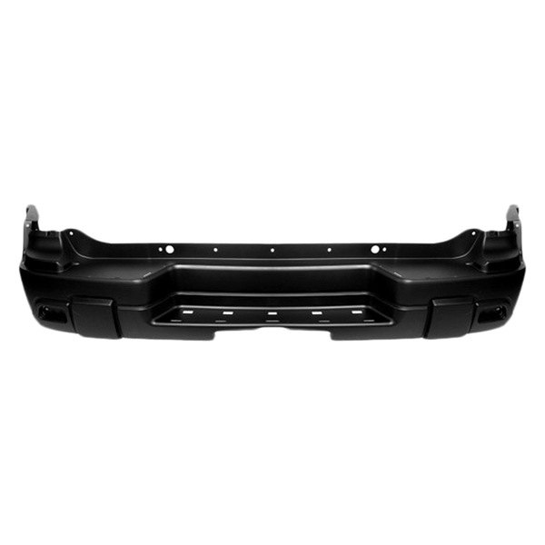 replace chevy trailblazer without tow hook without park assist sensors 2002 rear bumper cover. Black Bedroom Furniture Sets. Home Design Ideas