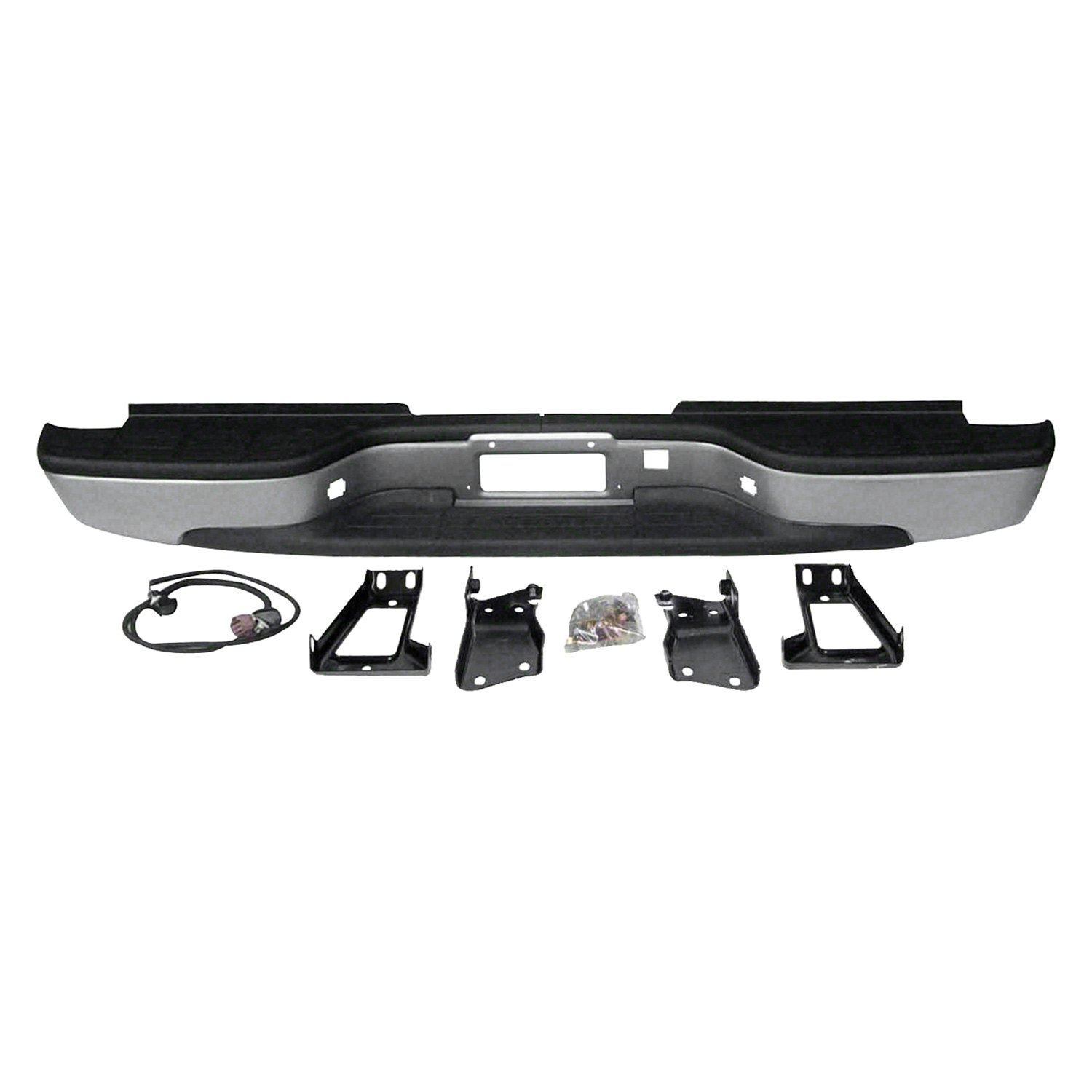Rear Bumper Assy : Replace gm rear step bumper assembly