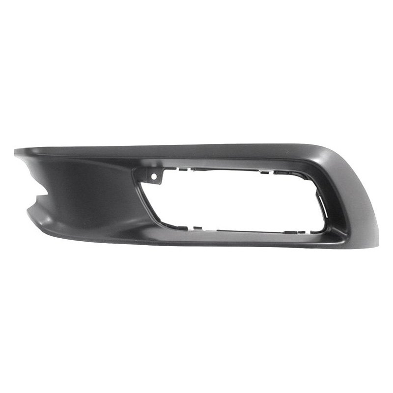 I-Match Auto Parts Left Driver Side Fog Lamp Hole Cover Bezel Replacement For 2012-2017 Hyundai Accent HY1038111 865631R000 Black
