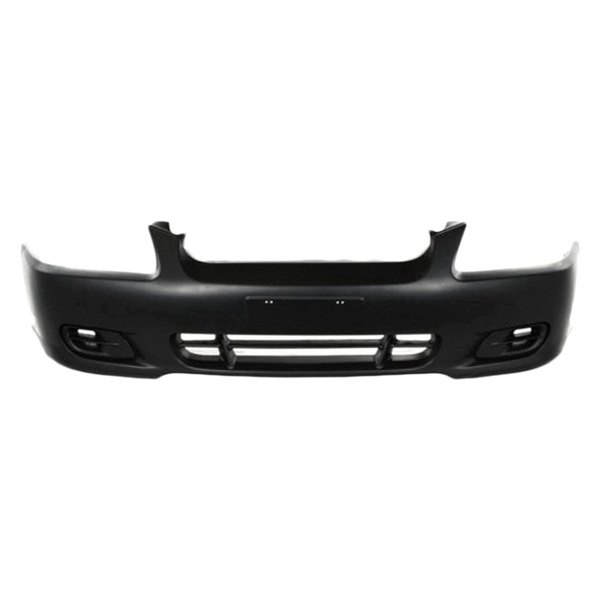 replace hyundai accent 2000 2002 front bumper cover. Black Bedroom Furniture Sets. Home Design Ideas