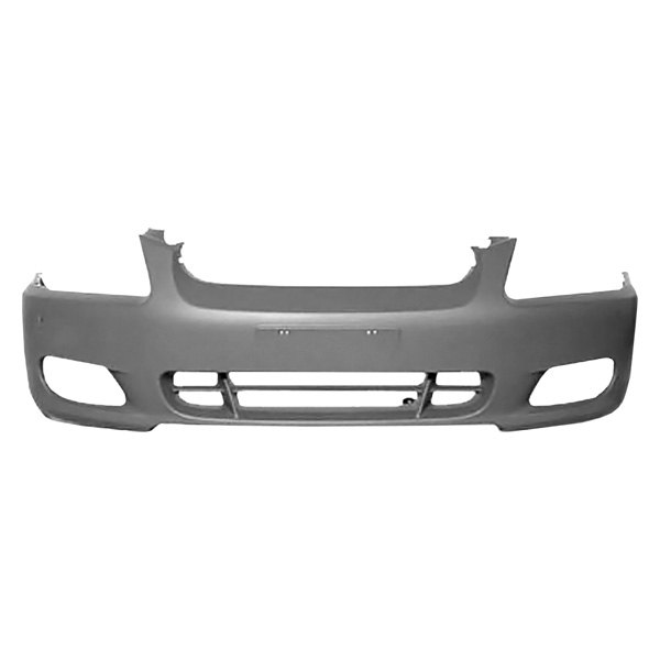 replace hyundai accent gl 2000 2002 front bumper cover. Black Bedroom Furniture Sets. Home Design Ideas