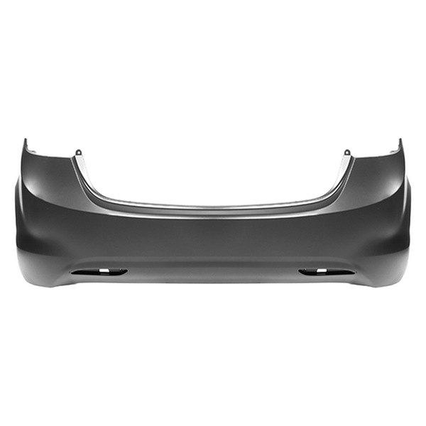replace hy1100180c hyundai elantra 2013 2015 rear bumper cover. Black Bedroom Furniture Sets. Home Design Ideas