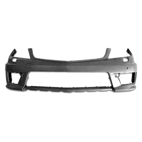 Replace mercedes c class 2012 front bumper cover for Mercedes benz bumper repair