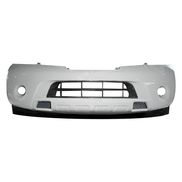 Replace Nissan Armada Without Tow Hook With Fog Lights 2008 2009 Front Bumper Cover