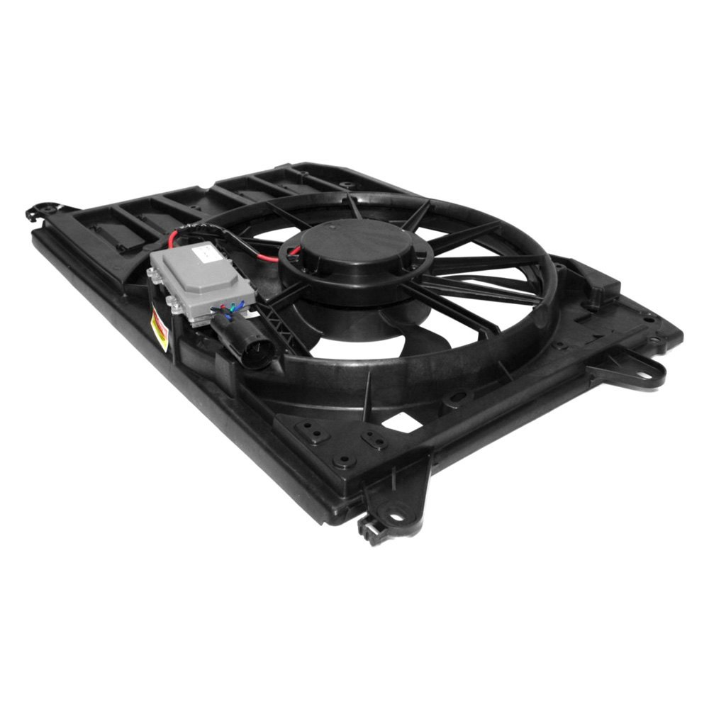 Replace® - Ford Fusion 2014 Engine Cooling Fan Assembly