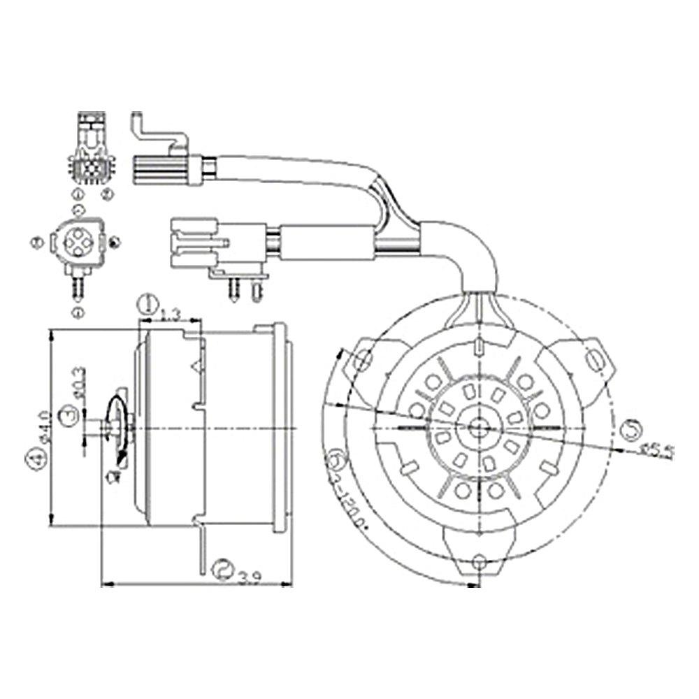 mars universal condenser fan motor wiring diagram
