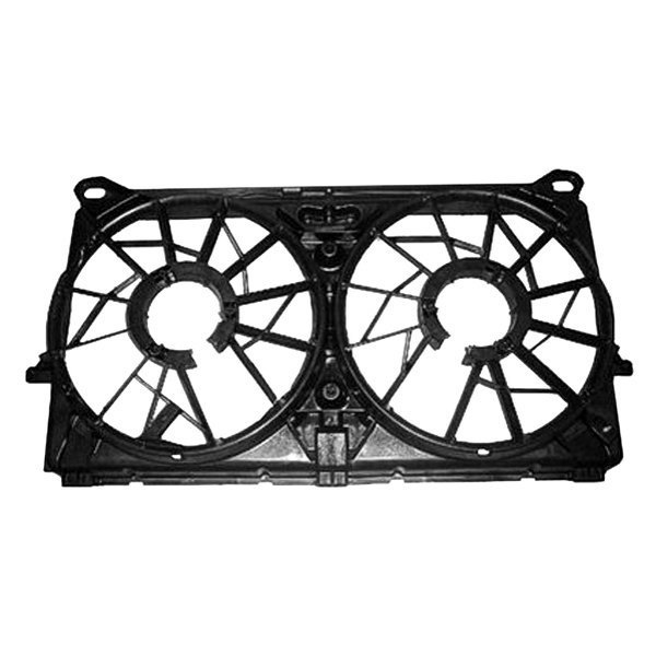 Details about For Chevy Silverado 2500 HD 2007-2013 Replace Engine Cooling  Fan Shroud