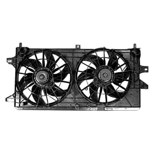 replace chevy impala 2004 2005 radiator fan assembly. Black Bedroom Furniture Sets. Home Design Ideas