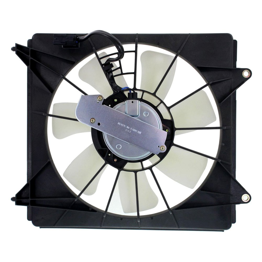 Hvac Cooling Fan : Replace honda accord l a c condenser fan assembly
