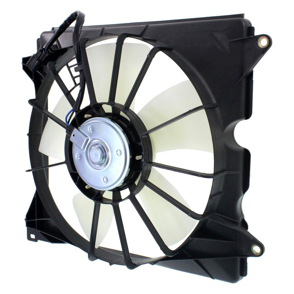 replace honda accord coupe sedan 2013 2015 engine cooling fan assembly. Black Bedroom Furniture Sets. Home Design Ideas
