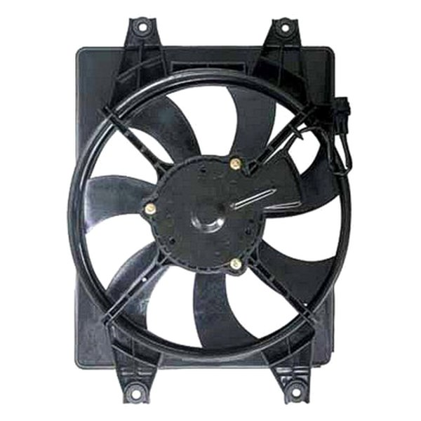 Hvac Fan Blade : Replace hyundai accent a c condenser fan assembly