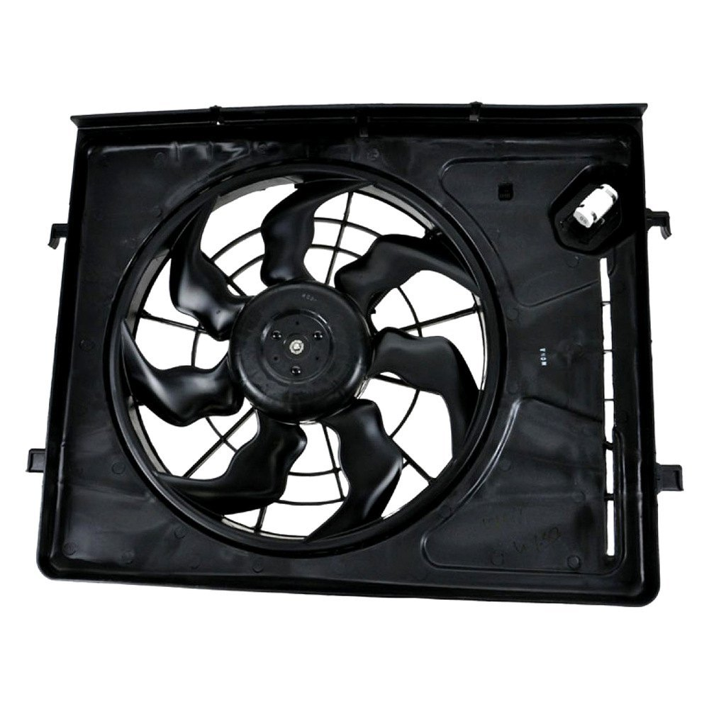 replace hyundai elantra 2011 engine cooling fan assembly. Black Bedroom Furniture Sets. Home Design Ideas