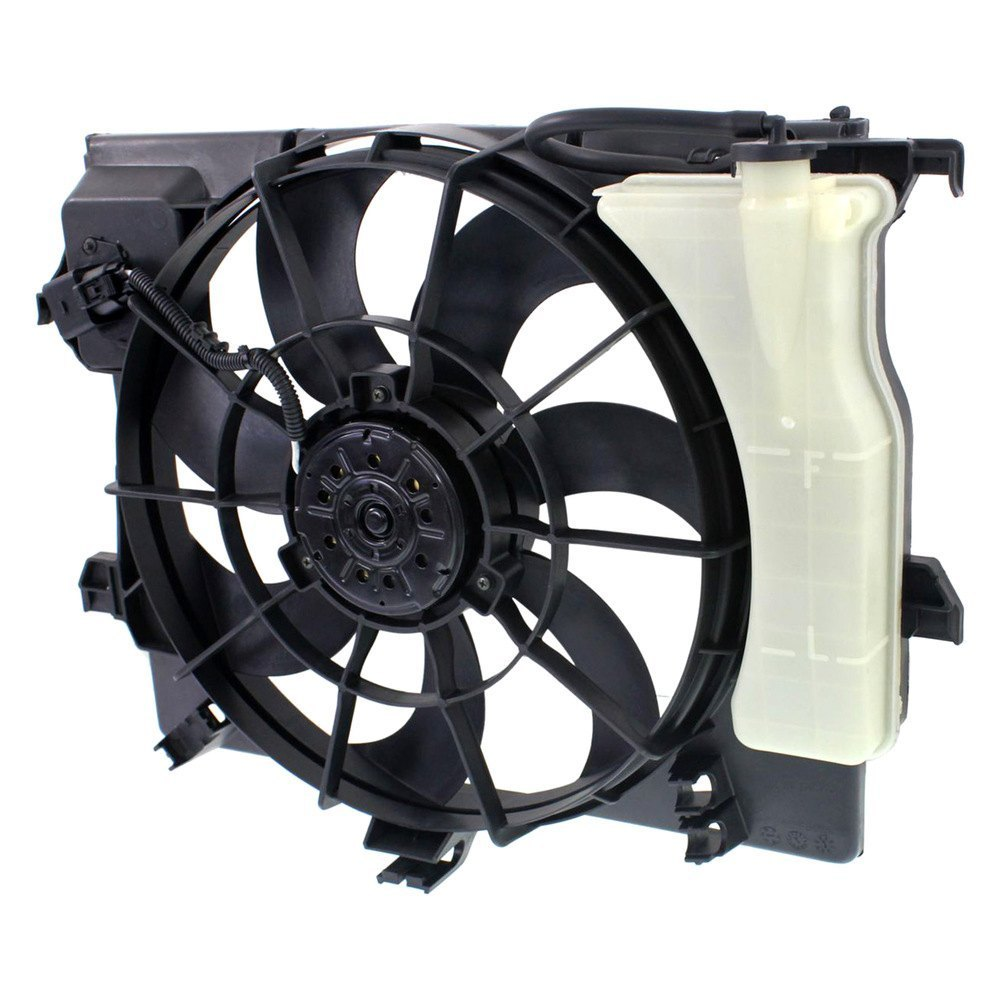 Radiator Cooling Fans : Replace hy radiator fan assembly