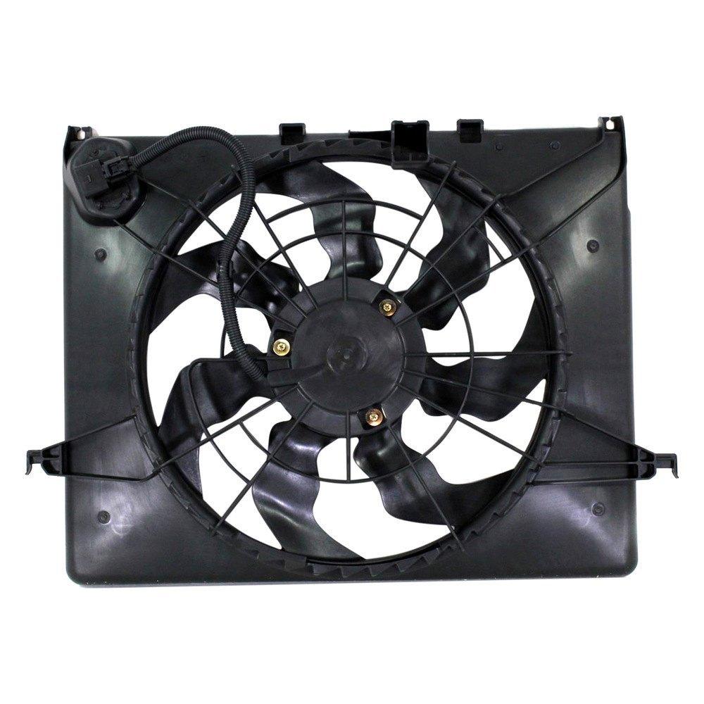 Replace 174 Hyundai Sonata 2012 Engine Cooling Fan Assembly