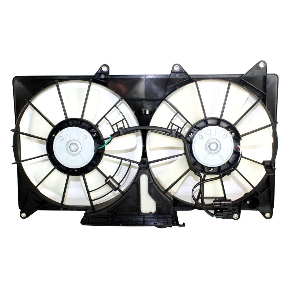 Radiator Cooling Fans : Replace lx radiator fan assembly
