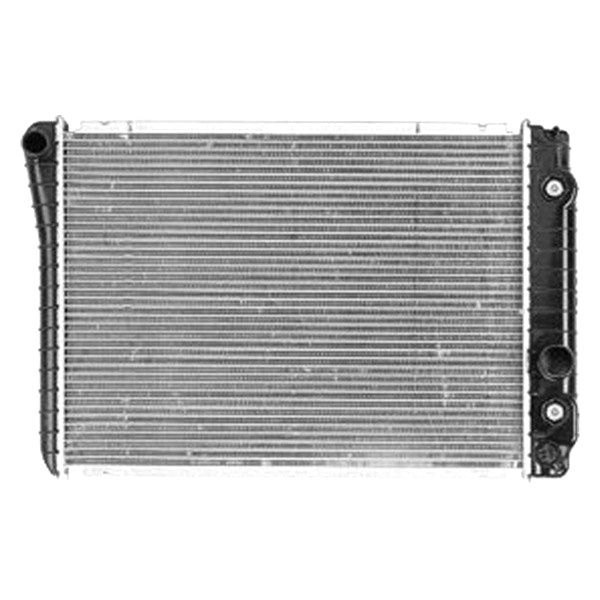 Replace chevy corvette engine coolant radiator