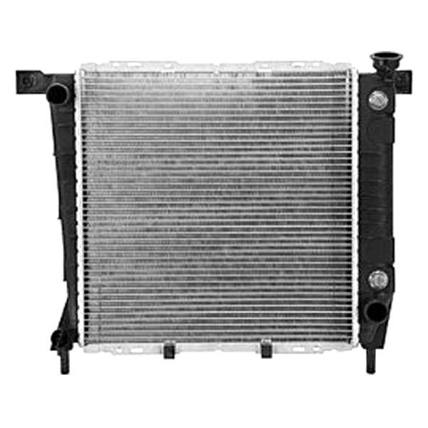 Replace ford ranger  engine coolant radiator