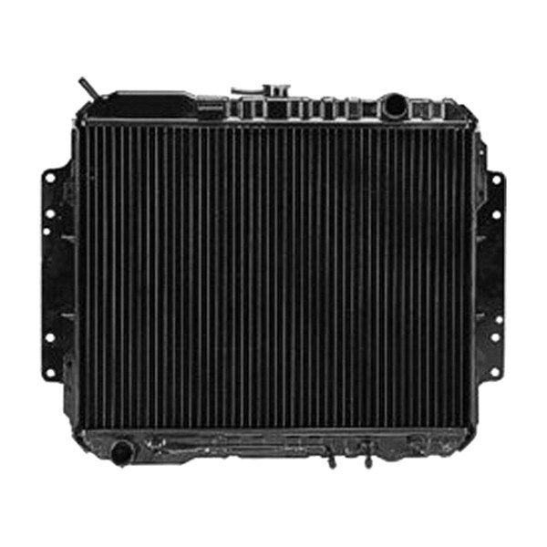 Replace isuzu pick up  radiator
